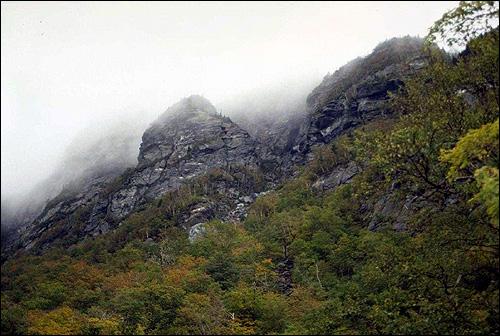 Туман у подножия гор. Фото, фотография природа
