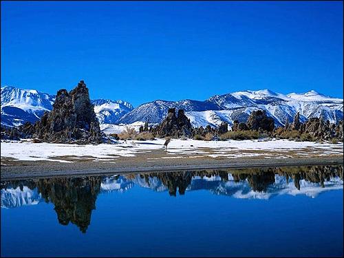Зимний пейзаж в горах. Фото, фотография природа