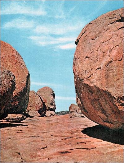Африка. Каменистые россыпи. Фото, фотография