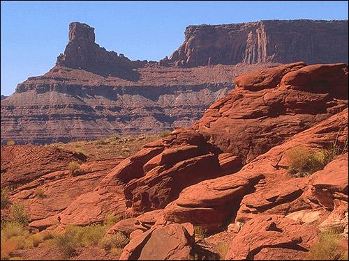 Красные скалы. Фото, фотография