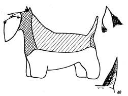 Уход за шерстью скотч-терьера (шотландского терьера)