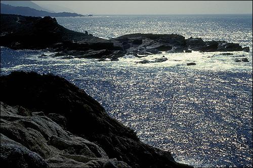 Каменистый берег моря. Фото, фотография картинка