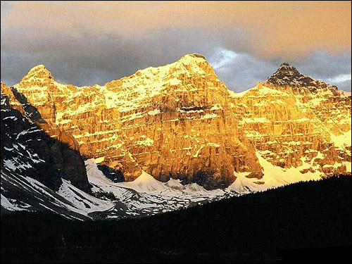 Расвет в горах. Фото, фотография