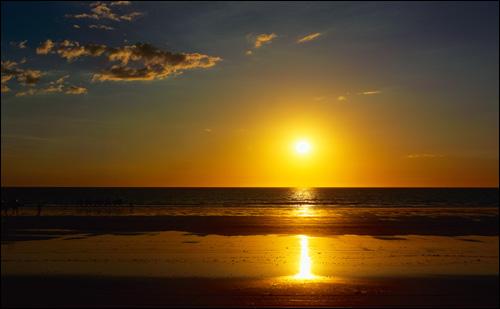 Закат на море. Фото, фотография картинка